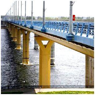 Железобетонный балочный мост жби лк 300